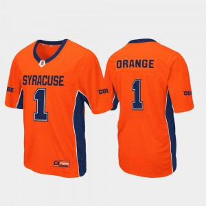 Football Max Power Syracuse Jersey Men's #1 Orange