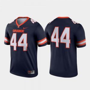 Navy Legend College Football #44 Syracuse Jersey Mens