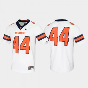 Game Untouchable Syracuse Jersey White #44 For Men