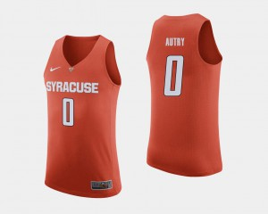 #0 College Basketball Adrian Autry Syracuse Jersey Orange Men's