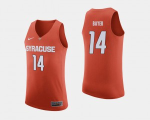 #14 Braedon Bayer Syracuse Jersey Orange Mens College Basketball