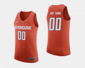Mens #00 College Basketball Syracuse Customized Jerseys Orange