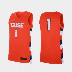 Replica College Basketball For Men Syracuse Jersey #1 Orange