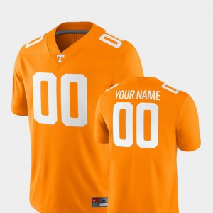 2018 Game UT Custom Jerseys Mens #00 Tennessee Orange College Football