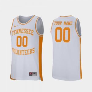 Retro Performance UT Custom Jerseys College Basketball Men #00 White