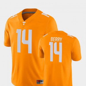 College Football Game Mens Eric Berry UT Jersey #14 Orange