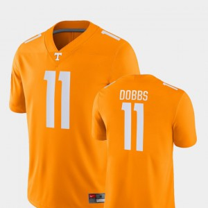 Orange Joshua Dobbs UT Jersey Game Mens #11 College Football