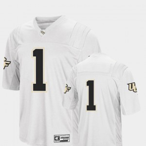 UCF Jersey #1 White Men College Football Colosseum
