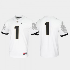 Untouchable Game #1 UCF Jersey For Men's White