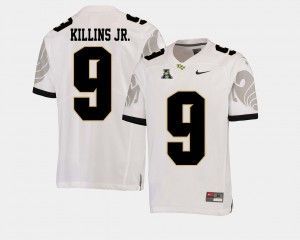 For Men White Adrian Killins Jr. UCF Jersey College Football #9 American Athletic Conference
