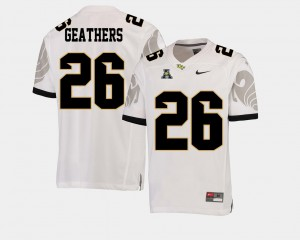 Clayton Geathers UCF Jersey College Football Men #26 White American Athletic Conference