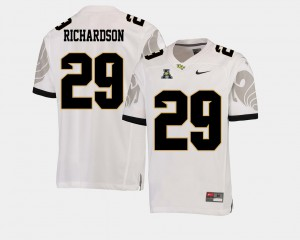 College Football Cordarrian Richardson UCF Jersey Mens White #29 American Athletic Conference