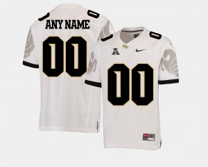 American Athletic Conference Mens College Football #00 UCF Customized Jerseys White