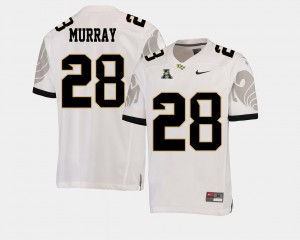 #28 Men Latavius Murray UCF Jersey College Football American Athletic Conference White