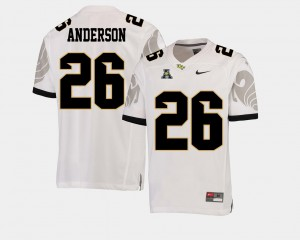American Athletic Conference For Men #26 White Otis Anderson UCF Jersey College Football