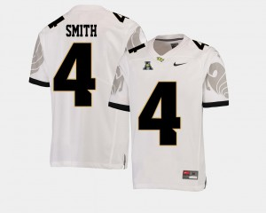 White #4 Tre'Quan Smith UCF Jersey American Athletic Conference Men College Football