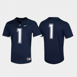 Navy UConn Jersey Game #1 Untouchable For Men