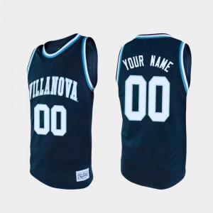Villanova Custom Jersey Navy Alumni #00 Mens College Basketball