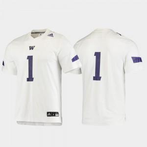 Replica Football Washington Jersey For Men #1 White