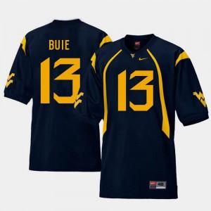 #13 Navy Replica Andrew Buie WVU Jersey College Football For Men's