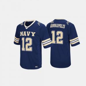 Hail Mary II #12 Mens Navy Navy Jersey
