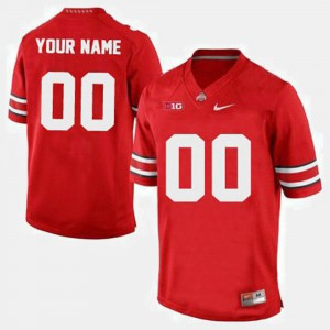 OSU Customized Jerseys College Football For Men's Red #00