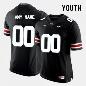 #00 Black OSU Customized Jersey College Limited Football Youth(Kids)