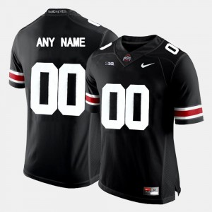 College Limited Football For Men OSU Customized Jersey Black #00