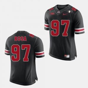 Mens Joey Bosa OSU Jersey Black #97 College Football