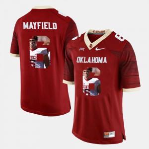 Crimson Men Player Pictorial #6 Baker Mayfield OU Jersey