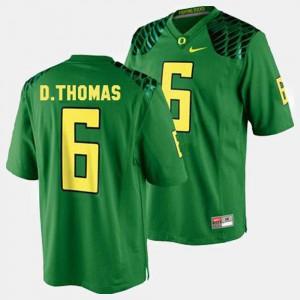 Green #6 College Football De'Anthony Thomas Oregon Jersey Men