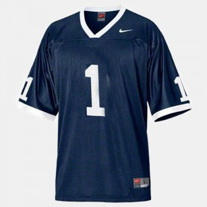 For Men's #1 College Football Penn State Jersey Blue