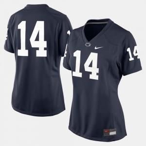 Navy Blue Ladies Penn State Jersey #14 College Football