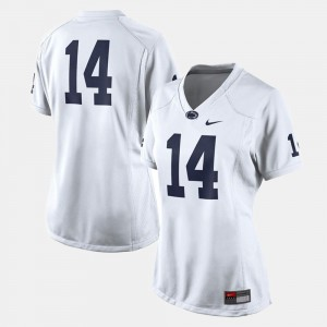 Penn State Jersey College Football White Womens #14
