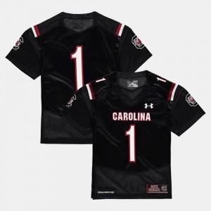 College Football South Carolina Jersey Black For Kids #1