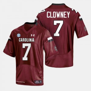 College Football South Carolina Jersey #7 For Men Cardinal