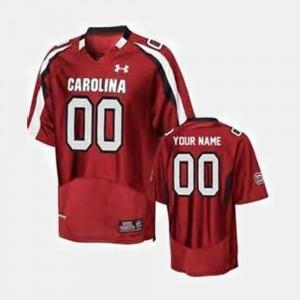 Red College Football South Carolina Custom Jerseys #00 For Men's