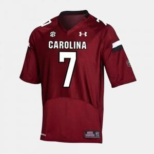 #7 Men's Jadeveon Clowney South Carolina Jersey College Football Red
