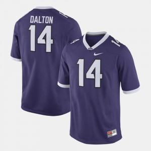 Andy Dalton TCU Jersey #14 Alumni Football Game Purple For Men's