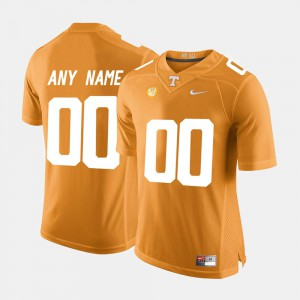 UT Customized Jersey College Limited Football Orange Men #00