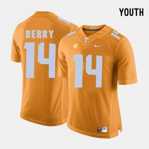 Eric Berry UT Jersey Kids College Football #14 Orange