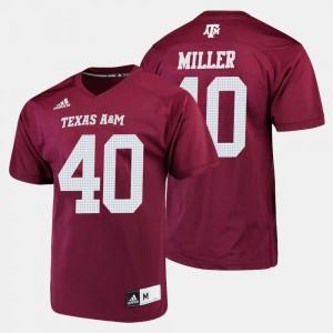 Von Miller Texas A&M Jersey Men Maroon #40 College Football