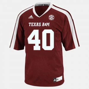 Von Miller Texas A&M Jersey #40 Youth College Football Red