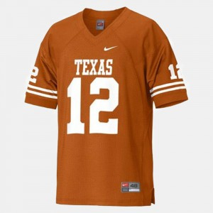 #12 Men's Orange College Football Colt McCoy Texas Jersey