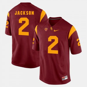 Adoree' Jackson USC Jersey #2 For Men Pac-12 Game Red