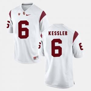 Cody Kessler USC Jersey Mens #6 Pac-12 Game White