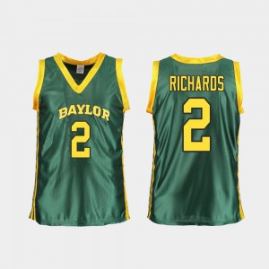 #2 DiDi Richards Baylor Jersey For Women Green Replica College Basketball
