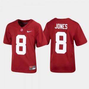 Alumni Football Julio Jones Alabama Jersey Crimson Youth Replica #8