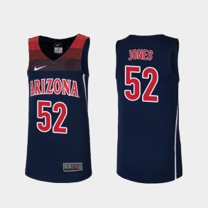 Navy College Basketball Youth(Kids) Replica Kory Jones Arizona Jersey #52