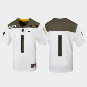 White Limited Edition Replica Army Jersey For Kids 1st Cavalry Division #1